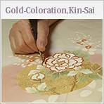 Gold- Coloration, Kin-Sai